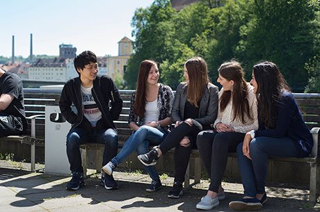 Students at Steyr University of Applied Science